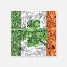 St. Patricks Day Flag Sticker