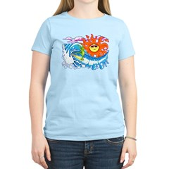 Surfing Iguana T-Shirt