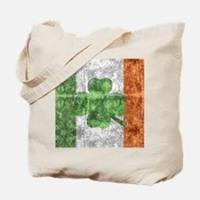 St. Patricks Day Flag Tote Bag