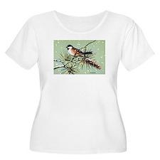 Chickadee Bird T-Shirt