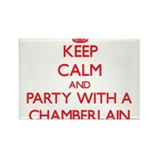 Keep Calm and Party With a Chamberlain Magnets