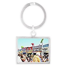 food vendors new orleans Landscape Keychain