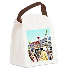 food vendors new orleans Canvas Lunch Bag