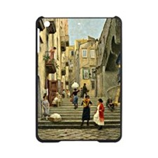 Naples Street Scene; Paul G. Fische iPad Mini Case