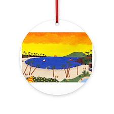 Napili Kai Ornament (Round)