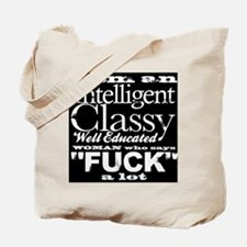 Classy Woman Tote Bag