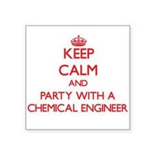 Keep Calm and Party With a Chemical Engineer Stick