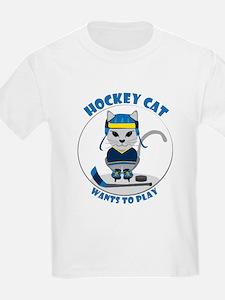 Girls' Ice Hockey T-Shirt