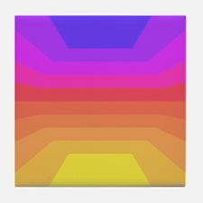70s disco Tile Coaster