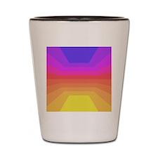 70s disco Shot Glass