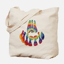 Old Hippie Tote Bag
