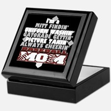 Baseball Mom Keepsake Box