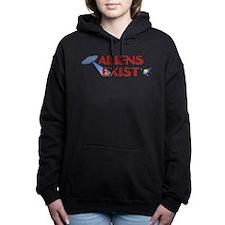 Aliens Exist Hooded Sweatshirt