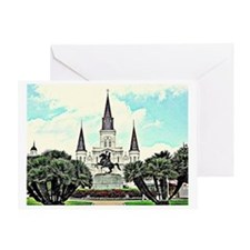 jackson square #1 Greeting Card