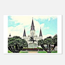 jackson square #1 Postcards (Package of 8)