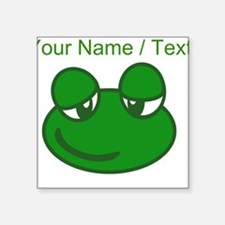 Custom Cartoon Frog Sticker