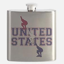 USA Speedskating Flask