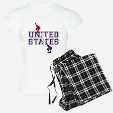 USA Speedskating Pajamas