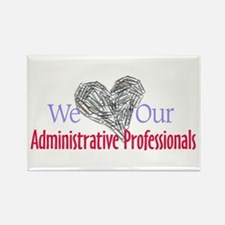 Administrative Professionals Rectangle Magnet (10
