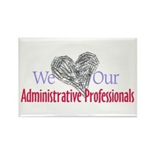 Administrative Professionals Rectangle Magnet