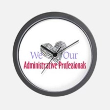 Administrative Professionals Wall Clock