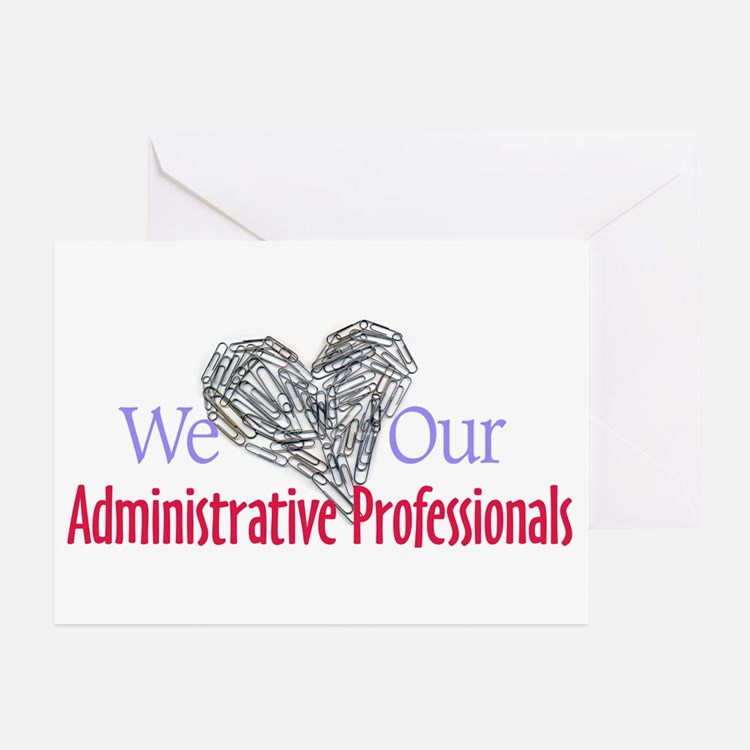 Administrative Professionals Greeting Cards (Packa