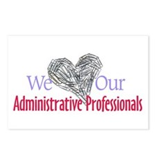 Administrative Professionals Postcards (Package of