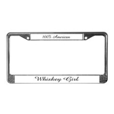 Cute Whiskey License Plate Frame