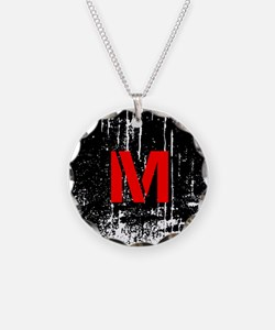 Industrial Style Monogram Necklace