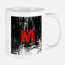 Industrial Style Monogram Mugs