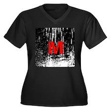 Industrial Style Monogram Plus Size T-Shirt