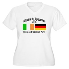 Irish German Parts... Plus Size T-Shirt