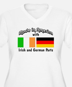 Irish German Parts... Plus Size T-Shirt