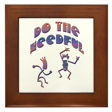 Do the Needful-B Framed Tile