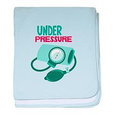 Under Pressure baby blanket