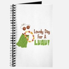 Lovely Day For A Luau! Journal