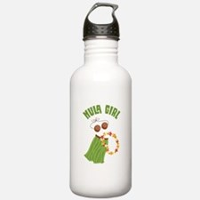 Hula Girl Water Bottle