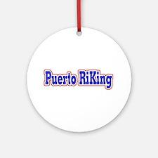 Puerto RiKing Ornament (Round)