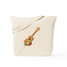 Ukulele Instrument Tote Bag