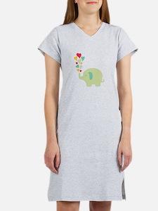 Baby Elephant Women's Nightshirt