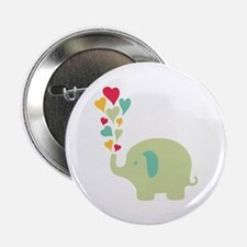 """Baby Elephant 2.25"""" Button (10 pack)"""