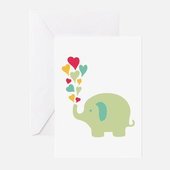 Baby Elephant Greeting Cards