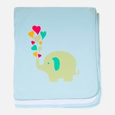 Baby Elephant baby blanket