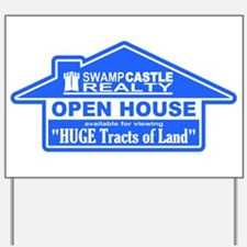 Swamp Castle Realty Huge Tracts Yard Sign