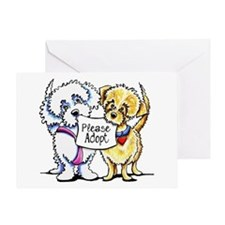 Mighty Mutts Adopt Greeting Card