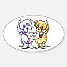 Mighty Mutts Adopt Decal