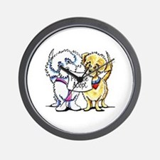 Mighty Mutts Adopt Wall Clock