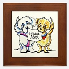Mighty Mutts Adopt Framed Tile