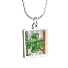 St. Patricks Day Flag Necklaces