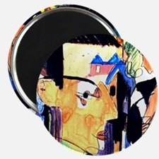 Ernst Ludwig Kirchner Self-Portrait Magnet
